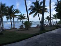 Caribe Playa Beach before Hurricane Maria.